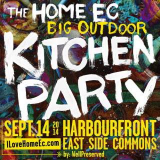 Update on the WellPreserved Big Outdoor Kitchen Party