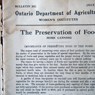What Preserving Looked Like in 1917