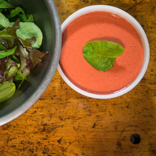 Strawberry Balsamic and Basil Salad Dressing Recipe