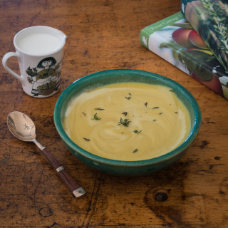 Parsnip Potato Soup Recipe