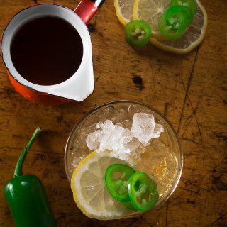 Smoky Spicy Amaretto Sour Recipe