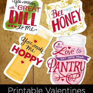 Happy Valentine's (Free Printables)