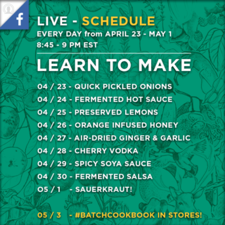 Learn to Preserve in 15 Minutes or Less – 9 Days of Live Video!