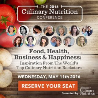 2016 Culinary Nutrition Conference – May11