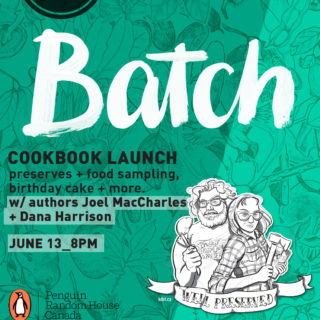 News, updates and #BatchCookbook Launch – June 13
