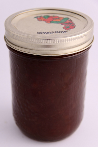 Peach Butterscotch jam