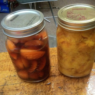 Use Simple Infusions to Extend the Variety in Your Pantry; Vodka-Peach, Apricot Brandy