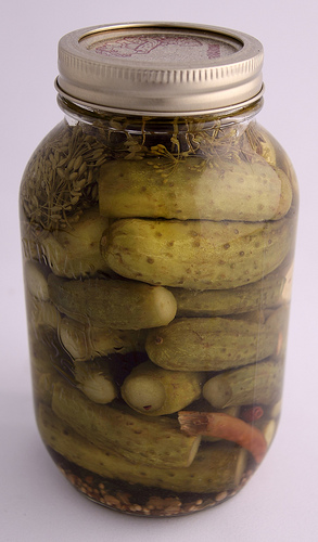 Preserving Recipe for Pickles