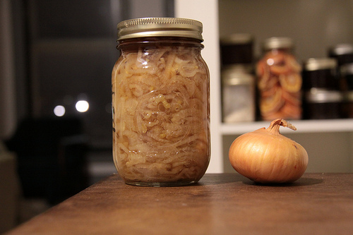 Picked Onions for Waterbath Preserving 2