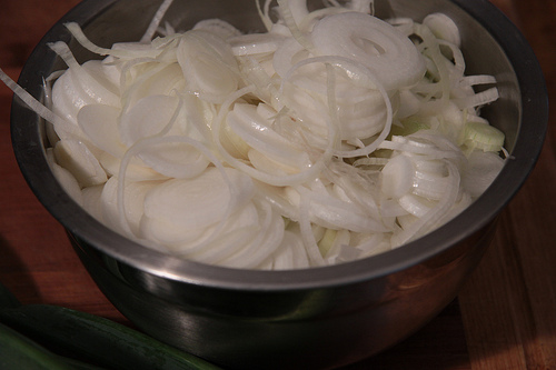 Dehydrating Green Onions 3