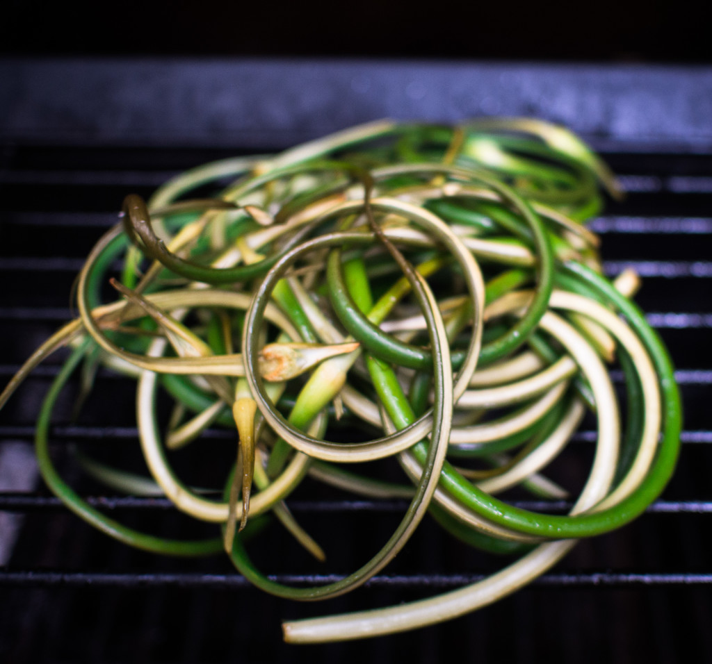 Smoked Garlic Scape Salt Recipe