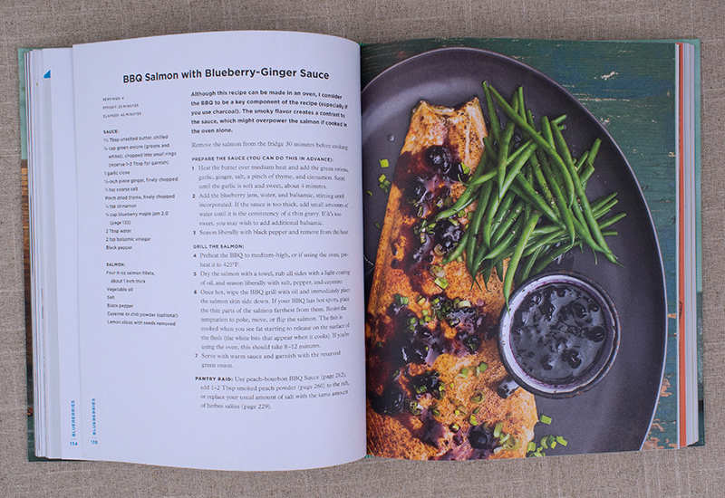 Batch cookbook over 200 recipes tips and techniques for a well this recipe uses our blueberry jam as the main ingredient in a sauce that goes with bbq salmon forumfinder Image collections